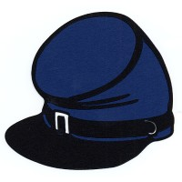 Blue Kepi Hat