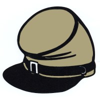Gray Kepi Hat
