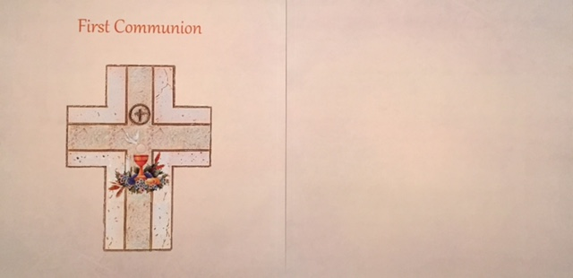First Communion 2 page