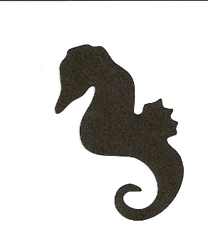 Sea Horse die-cut