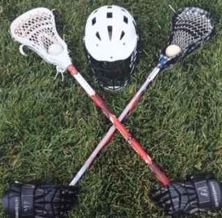 FS Lacrosse crossed sticks