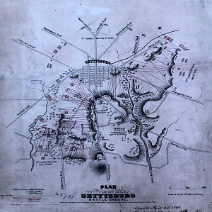 Civil War Battle Map Plan